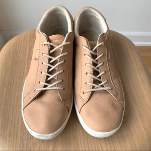 KEDS Natural Leather Sneakers